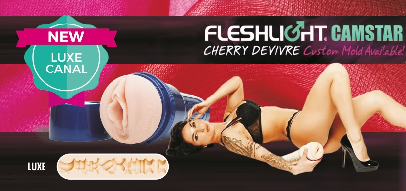 fleshlight luxe camstar cherry devivre