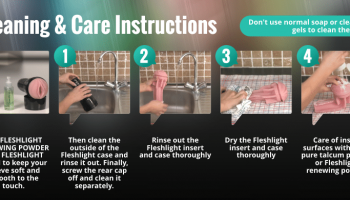 fleshlight cleaning care instructions