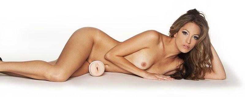 Jenna Haze and her hot Fleshlight