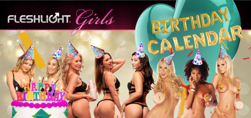 fleshlight girls birthday calendar