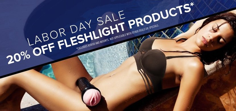 Labor Day Sale : Cheap Fleshlight Discount