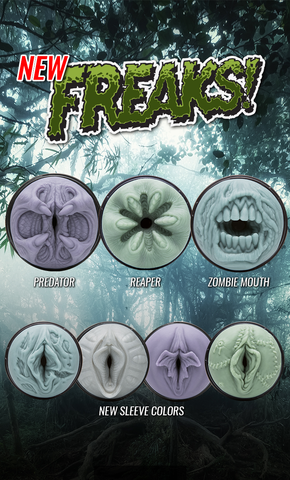 New Fleshlight Freaks